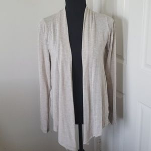 Jrs. Open Front Cardigan